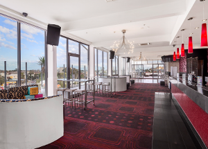 Rooftop Bar Venue — Interior Seating | Hotel Barkly