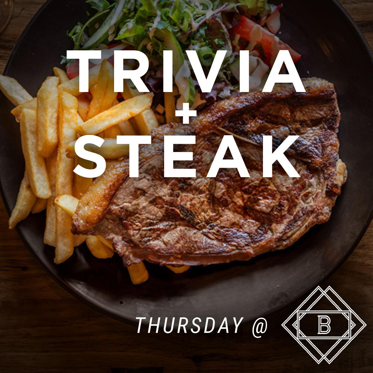 Trivia + Steak