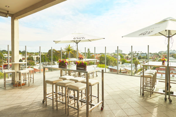 Exterior Seating | The Rooftop Bar — The perfect function venue for events in St. Kilda
